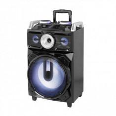 Boxa portabila cu Bluetooth si functie Karaoke, Trevi 120 W, FM, MP3, USB