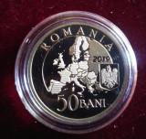 Moneda 50 Bani 2019 PROOF - Presedintia Romaniei la Consiliul Uniunii Europene