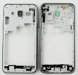 Rama carcasa mijloc Samsung Galaxy J5 J500 argintiu