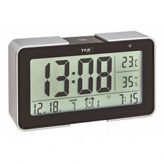 Termometru si higrometru cu senzor de lumina negru TFA 60.2540.01 Children SafetyCare