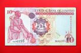 LESOTHO  -  10 Maloti 2005  -  aUNC