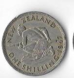 Moneda 1 shilling 1947 - Noua Zeelanda
