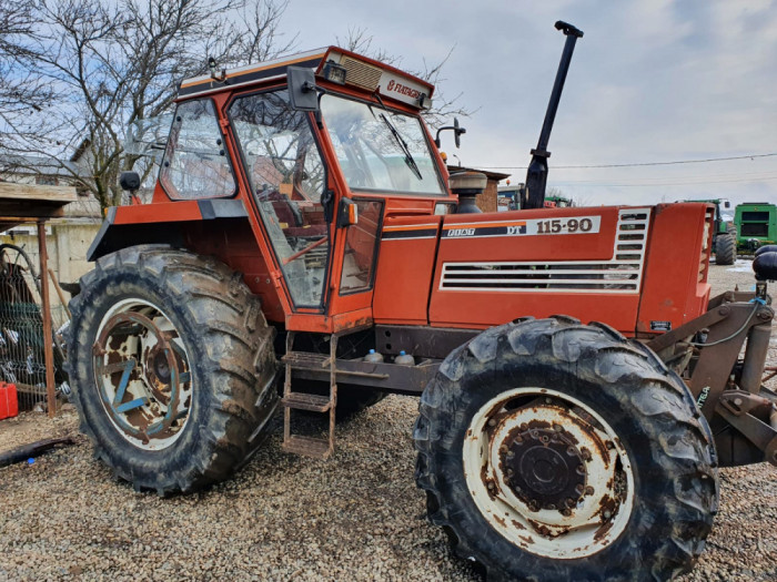 Tractor Fiat 115 - 90 DT, 115 CP, 4x4, import 2021.
