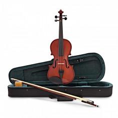 Viola vioara clasica din lemn 7 8 65 cm toc inclus