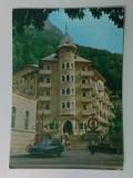 Carte poștală - Băile Herculane, Hotelul Cerna - anul 1986 (circulată)