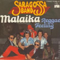 "Saragossa Band - Malaika (1978, Ariola) Disc vinil single 7"""