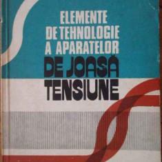 Elemente De Tehnologie A Aparatelor De Joasa Tensiune - Al. Vasilevici L. Moldovan ,304347