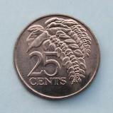 TRINIDAD TOBAGO - 25 Cents 1979