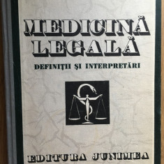 Medicina legala Definitii si interpretari, de Teodor Ciornea