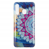 Cumpara ieftin Carcasa Husa Samsung Galaxy A50 Model Mandala, Fosforescent, Antisoc + Folie sticla securizata Samsung Galaxy A50 Tempered Glass Viceversa