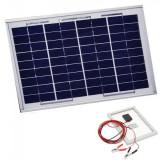Panou Solar Fotovoltaic 50W 36 Celule 67x54cm Cablu Clesti 12V