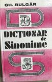 Dictionar de sinonime  Gheorghe Bulgar