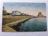 Constanta -Vedere spre Cazino-1923-circulata, Necirculata, Printata