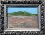 Peisaj cu colina - semnat Andre Brasilier, Peisaje, Ulei, Altul