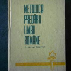 STANCIU STOIAN - METODICA PREDARII LIMBII ROMANE IN SCOALA GENERALA