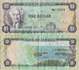 1976 , 1 dollar ( P-59b ) - Jamaica
