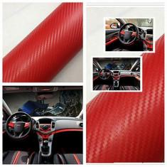 Folie carbon 3d rosie 127cm x 100cm