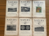 Revista Natura anul XIII 1924 - 12 numere - an complet