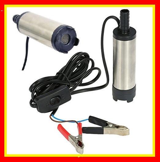 Pompa Transfer Combustibil Motorina Lichide Auto 12v