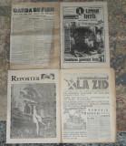 4 ziare Garda de Fier,Reporter,Linia Intii,Comunismul la zid,Revolutie anii 90