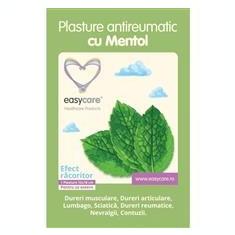 Plasture Antireumatic cu Mentol EasyCare 12x18cm 1buc Cod: 30120