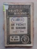 Un pachet de scrisori - AL. DAMAS FIUL , 1919