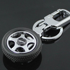 Breloc roata  auto metalic jaguar  + ambalaj  cadou