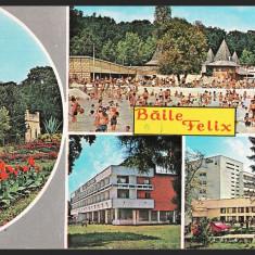 BAILE FELIX, STRANDUL TERMAL – HOTEL NUFARUL, COLAJ - CP CIRCULATA #colectosfera, Fotografie