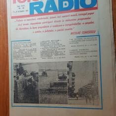 revista radio-tv saptamana 3-9 octombrie 1982
