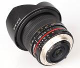 Samyang 3.5, 8mm, FishEye UMC CS.II, Canon