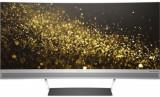 Monitor VA LED HP Envy 34inch, UWQHD (3440 x 1440), HDMI, DisplayPort, Ecran curbat, 100 Hz (Argintiu)