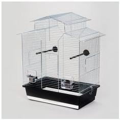 Colivie papagal IZA II crom - 51 x 30 x 60,5 cm