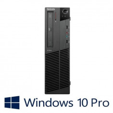 PC Refurbished Lenovo ThinkCentre M92P DT, i5-3470, Win 10 Pro