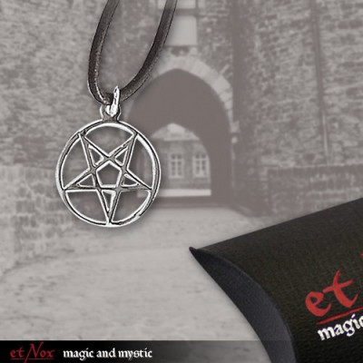 Pandantiv argint Pentagrama K166A foto