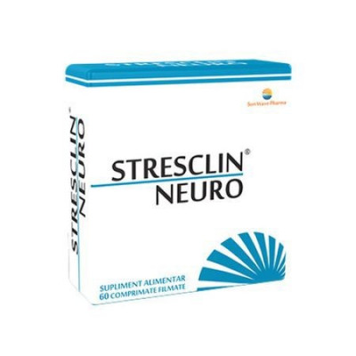 Stresclin neuro, 60cps, Sun Wave Pharma foto