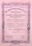200 Reichsmark titlu de stat Germania 1942