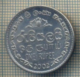 12215 MONEDA - SRI LANKA - ONE RUPEE  -ANUL 2002 -STAREA CARE SE VEDE