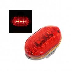 Stop bicicleta spate cu 3 LED-uri