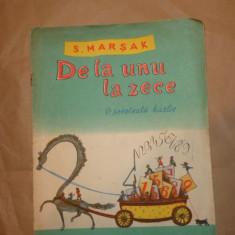 De la unu la zece - o socoteala hazlie 12pag/ilustratii/an 1964- S.Marsak