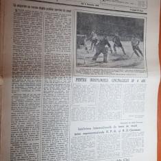 sportul popular 8 ianuarie 1953-concur de tir la cluj,coborarea cu bobul,handbal