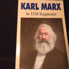 KARL MARX-IN 1234 FRAGMENTE-ALESE SI ADNOTATE DE ION IANOS-396 PG-