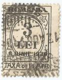 România, LP IV.15c/1930, Taxă de plată, supr. 8 IUNIE 1930, eroare 2, obl.