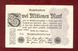 Bancnota Germania  -  REICHSBANKNOTE   - 2.000.000 MARK  1923