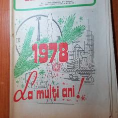 revista radio-tv saptamana 1-7 ianuarie 1978-numar de anul nou