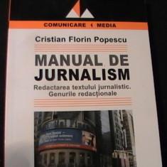 MANUAL DE JURNALISM-CRISTIAN FLORIN POPESCU-GENURI REDACTIONARE-259 PG-