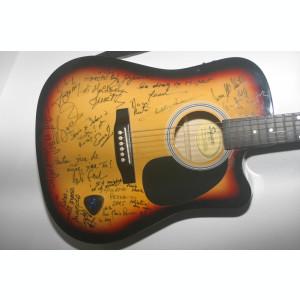 Chitara Fender Squier cu Autografe