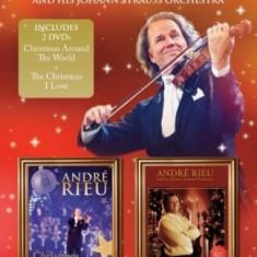 Andre Rieu Christmas Around The World + Christmas I Love (dvd)