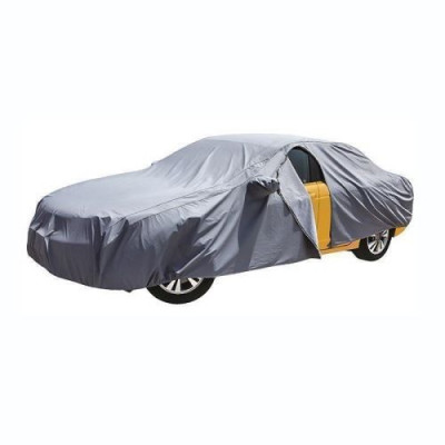 Prelata Auto Impermeabila 3 Straturi Mitsubishi Pajero RoGroup gri foto