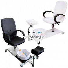 Unitate Salon Pedichiura cu Scaun, Suport Picior si Cadita RJ8302 SPCC