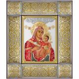 Cumpara ieftin Icoana Argint Maica Domnului de la Betleem 34.5x41cm Color COD: 3481
